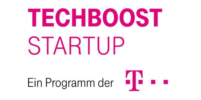 Logo Deutsche Telekom TechBoost program
