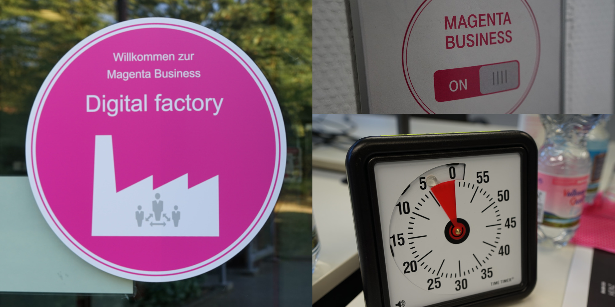 At the customer café, customers test Telekom's website with eye tracking