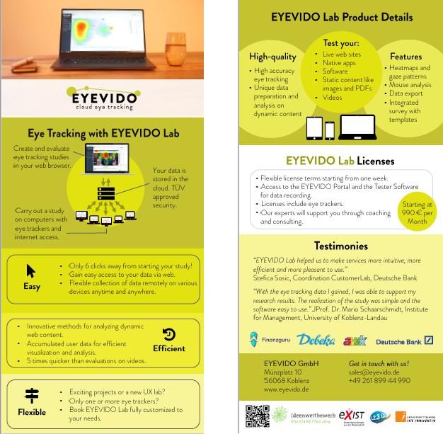 Flyer EYEVIDO