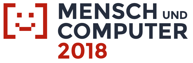 Logo of the Mensch und Computer conference 2018