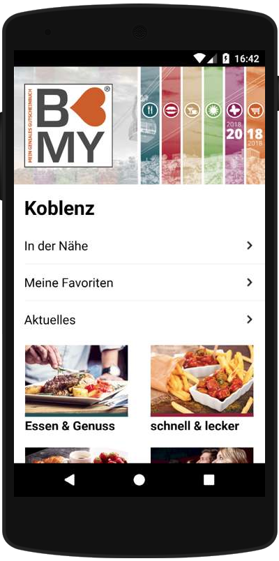 Simuliertes Smartphone in Appetize