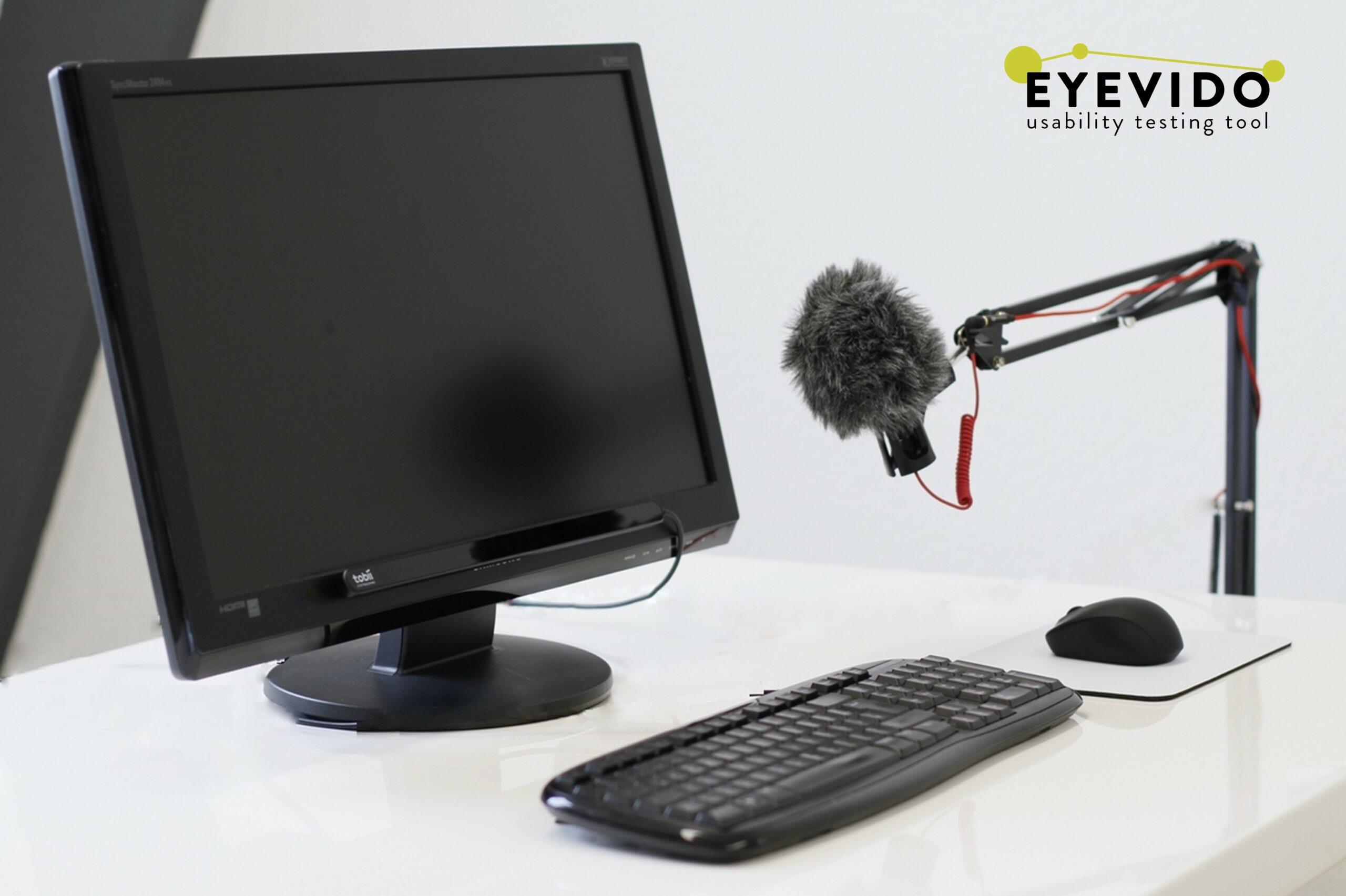 EYEVIDO Lab mit Eyetracker