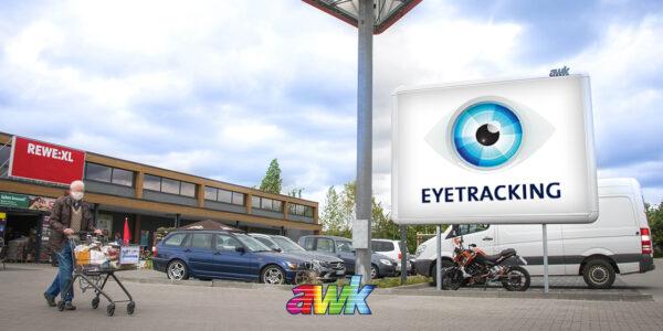 Eyetracking für Aussenwerbung mit awk