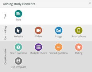 EYEVIDO Lab study design